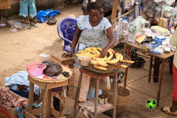 "The magic of Twenty Naira and an elderly Nigerian ""boli"" seller"